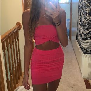 pink two piece